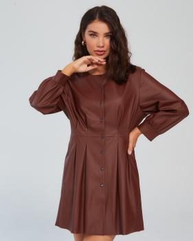 Платье трэнч