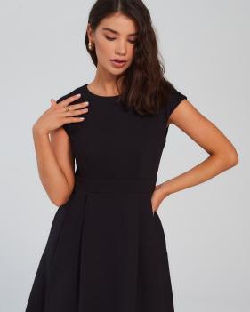 Платье КО.КО (черное)