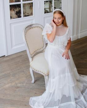 Платье Manush белое