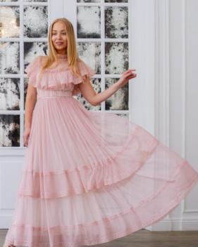 Платье Manush розовое